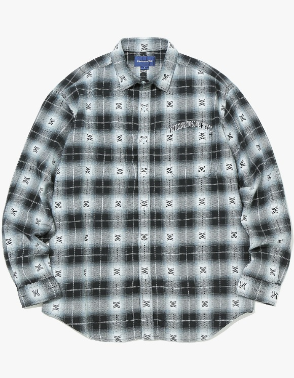 thisisneverthat ARC-Logo African Check Shirt - Black | HEIGHTS. | 하이츠 온라인 스토어