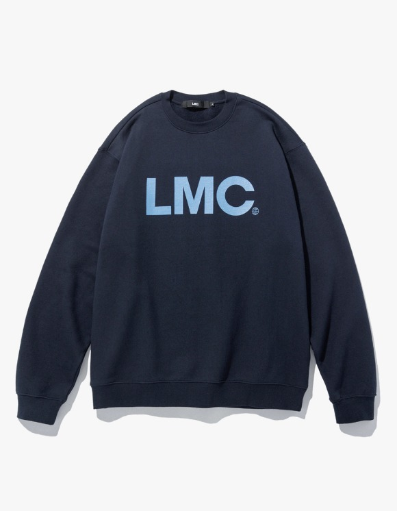 LMC LMC OG WHEEL SWEATSHIRT navy | HEIGHTS. | 하이츠 온라인 스토어