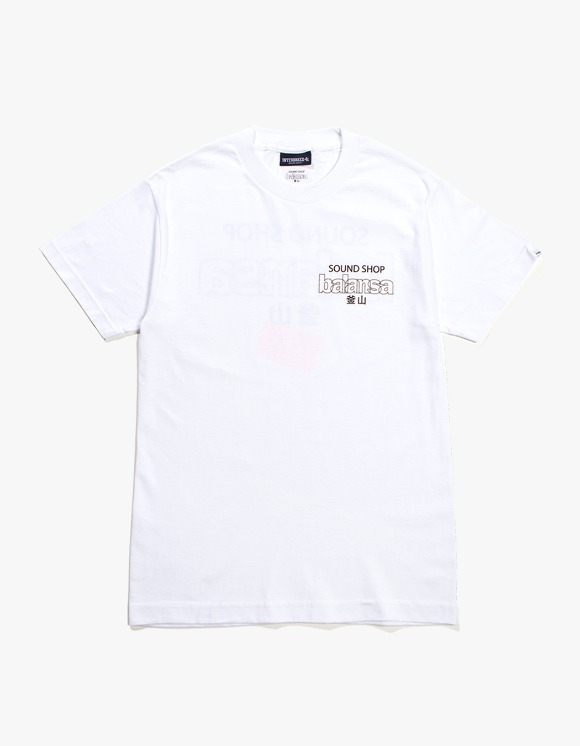 Balansa Interbreed Tape S/S Tee - White | HEIGHTS. | 하이츠 온라인 스토어