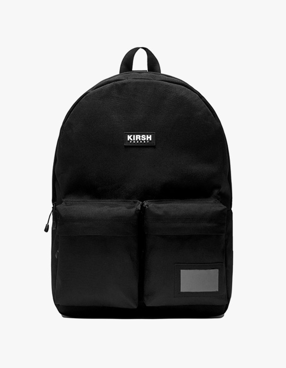 KIRSH KIRSH POCKET TWO POCKET BACKPACK IA  - BLACK | HEIGHTS. | 하이츠 온라인 스토어