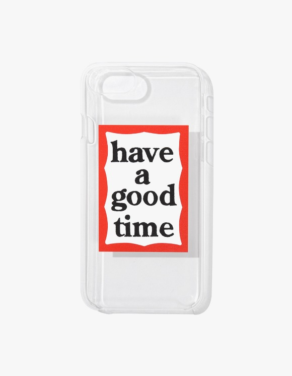 have a good time Frame iPhone Case 6/7/8 - Clear | HEIGHTS. | 하이츠 온라인 스토어