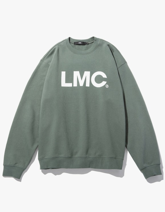 LMC LMC OG WHEEL SWEATSHIRT olive | HEIGHTS. | 하이츠 온라인 스토어