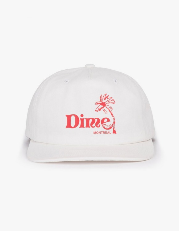 Dime Dime Island Cap - White | HEIGHTS. | 하이츠 온라인 스토어