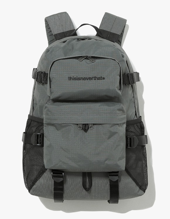 thisisneverthat CORDURA® 750D Nylon 2P Backpack - Grey | HEIGHTS. | 하이츠 온라인 스토어
