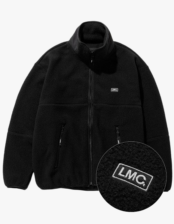 LMC LMC S-BOX FLEECE JACKET black | HEIGHTS. | 하이츠 온라인 스토어
