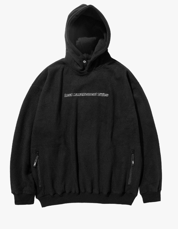 LMC LMC FLEECE OVERSIZED HOODIE black | HEIGHTS. | 하이츠 온라인 스토어
