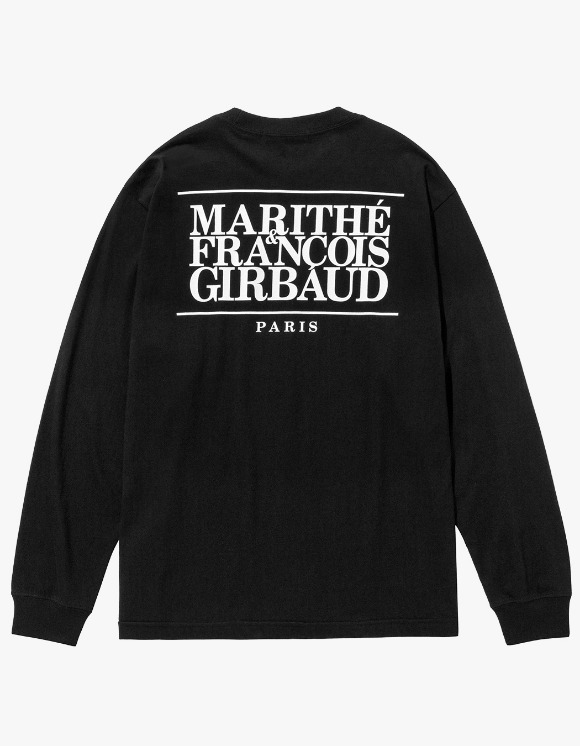 Marith+Franois Girbaud MFG CLASSIC LOGO L/S TEE black | HEIGHTS. | 하이츠 온라인 스토어
