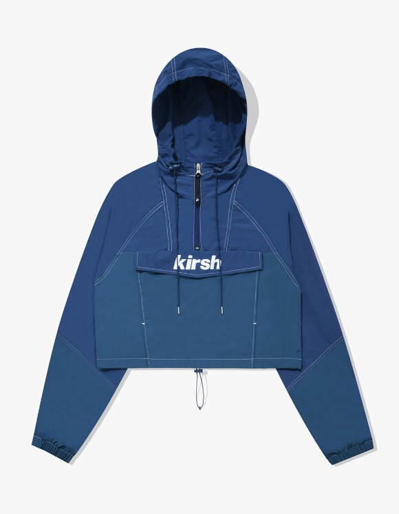 KIRSH CROP ANORAK JACKET IA - BLUE | HEIGHTS. | 하이츠 온라인 스토어