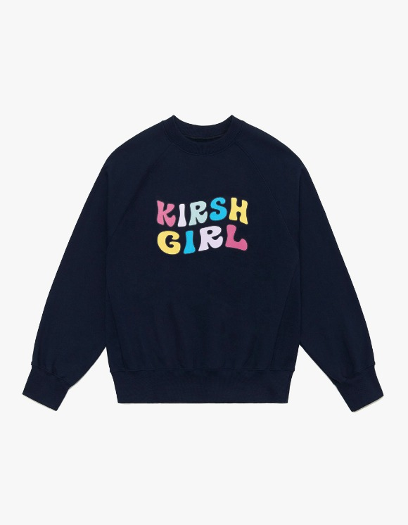KIRSH KIRSH GIRL SWEATSHIRTS IA - NAVY | HEIGHTS. | 하이츠 온라인 스토어