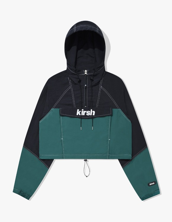 KIRSH CROP ANORAK JACKET IA - BLACK | HEIGHTS. | 하이츠 온라인 스토어