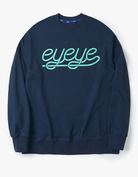 eyeye EYEYE Sweatshirts - Navy | HEIGHTS. | 하이츠 온라인 스토어