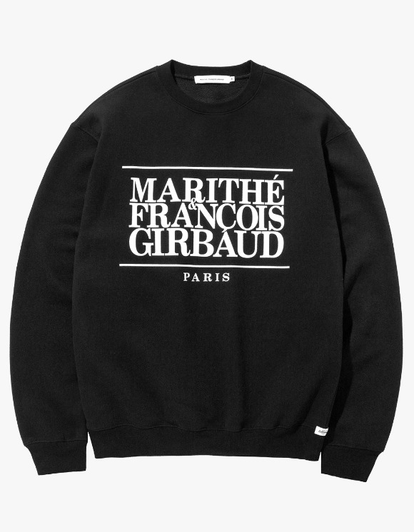 Marith+Franois Girbaud MFG CLASSIC LOGO SWEATSHIRT black | HEIGHTS. | 하이츠 온라인 스토어