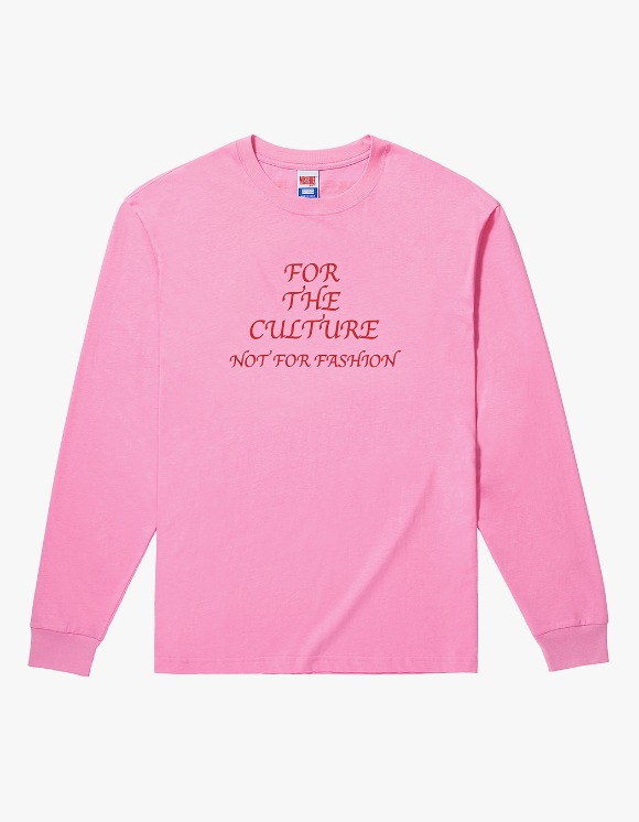 MISCHIEF FOR THE CULTURE Long Sleeve - Pink | HEIGHTS. | 하이츠 온라인 스토어