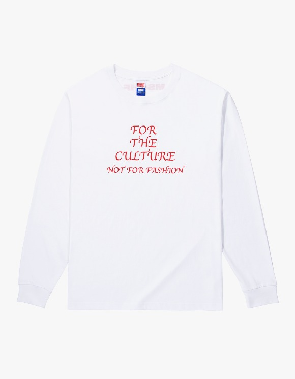 MISCHIEF FOR THE CULTURE Long Sleeve - White | HEIGHTS. | 하이츠 온라인 스토어