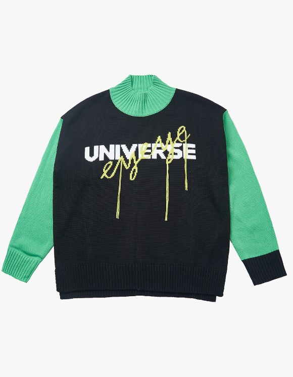 eyeye Universe EYEYE Hand Stitch Knit Top - Black | HEIGHTS. | 하이츠 온라인 스토어