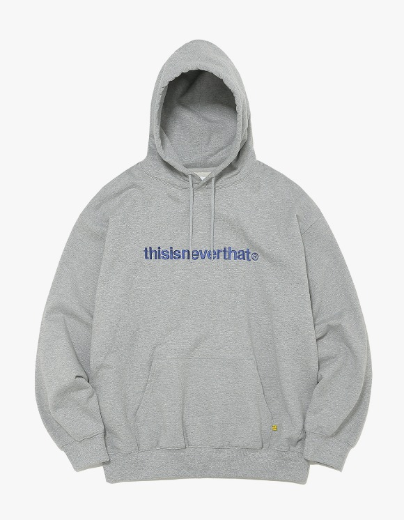 thisisneverthat T-Logo Hooded Sweatshirt - Grey | HEIGHTS. | 하이츠 온라인 스토어
