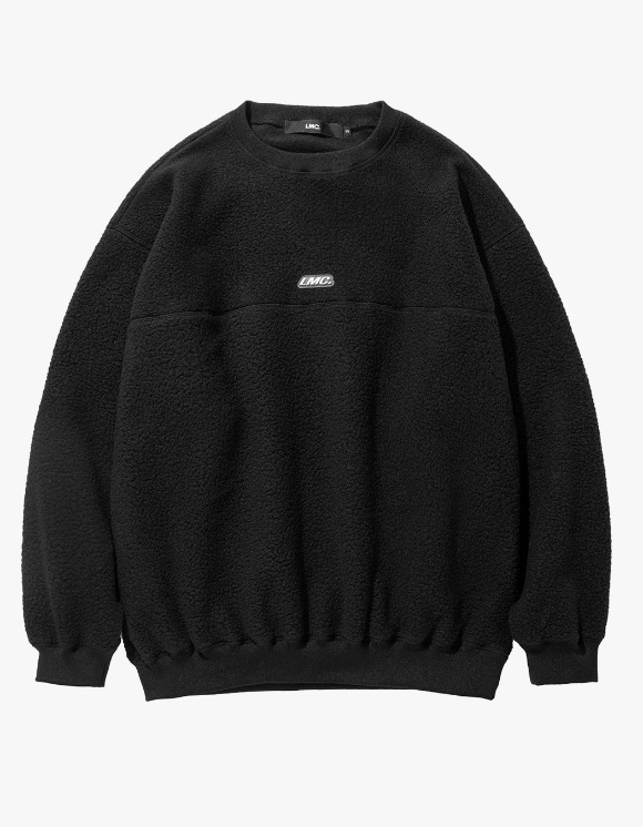 LMC LMC BOA FLEECE OVERSIZED SWEATSHIRT black | HEIGHTS. | 하이츠 온라인 스토어