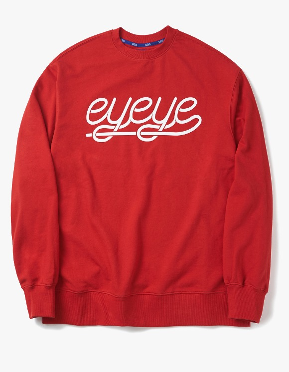 eyeye EYEYE Sweatshirts - Red | HEIGHTS. | 하이츠 온라인 스토어