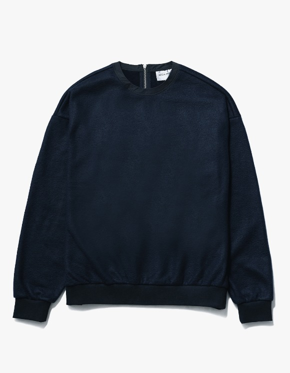 AECA WHITE Nord Oversize Sweat - Deep Navy | HEIGHTS. | 하이츠 온라인 스토어