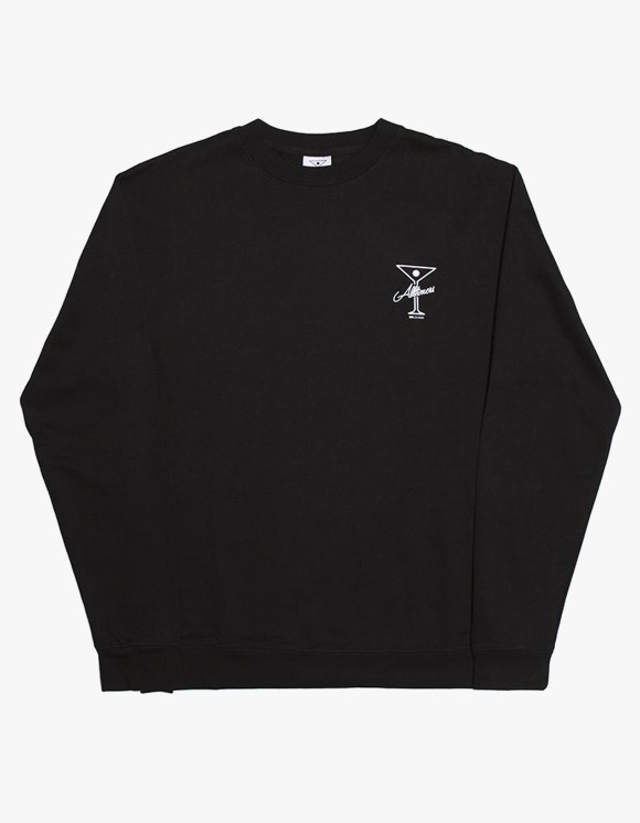 Alltimers Reverse Crewneck - Black | HEIGHTS. | 하이츠 온라인 스토어