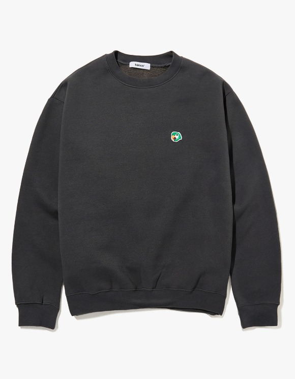 KANCO KANCO LOGO SWEATSHIRT charcoal | HEIGHTS. | 하이츠 온라인 스토어