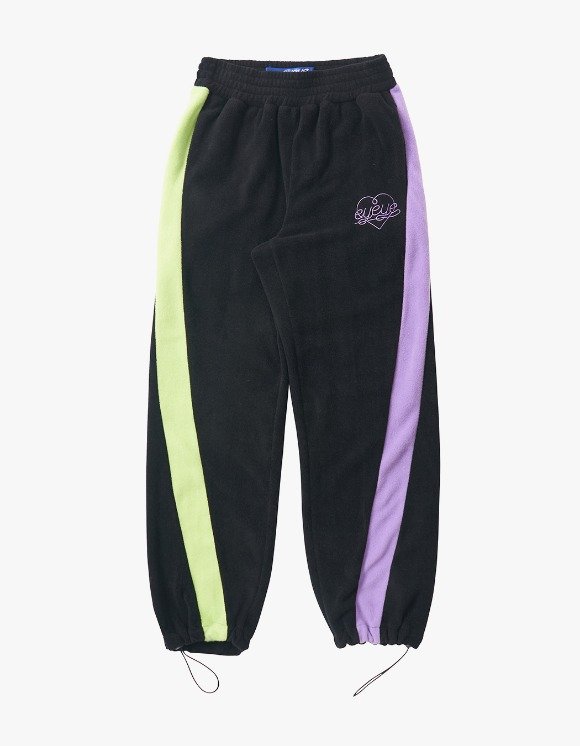eyeye Color Combination Fleece Pant - Black | HEIGHTS. | 하이츠 온라인 스토어