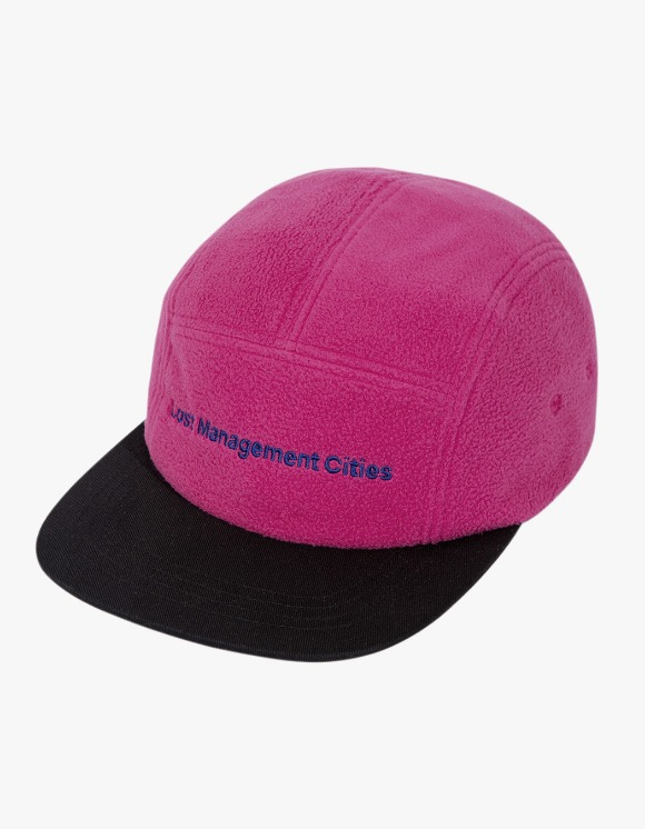 LMC LMC FN FLEECE CAMP CAP magenta | HEIGHTS. | 하이츠 온라인 스토어