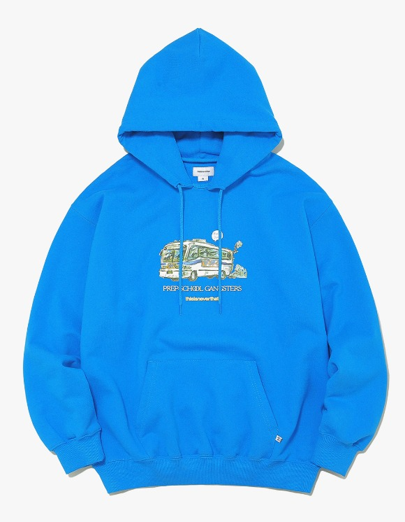 thisisneverthat WC Bus Hooded Sweatshirt - Purple | HEIGHTS. | 하이츠 온라인 스토어