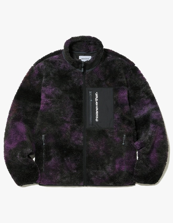 thisisneverthat SP Boa Fleece Jacket - Purple | HEIGHTS. | 하이츠 온라인 스토어