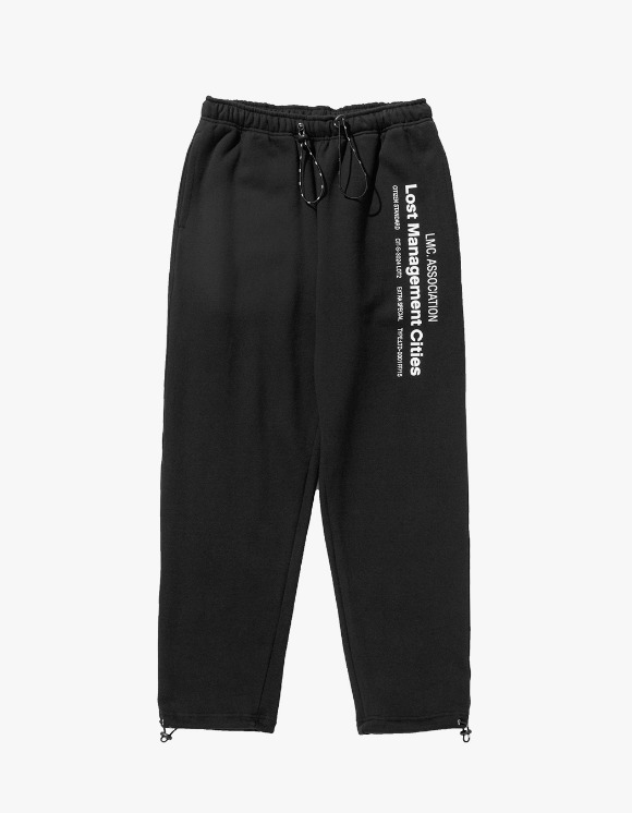 LMC LMC MIL SWEAT PANTS black | HEIGHTS. | 하이츠 온라인 스토어