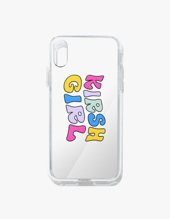 KIRSH KIRSH GIRL PHONE CASE IA - SILVER | HEIGHTS. | 하이츠 온라인 스토어