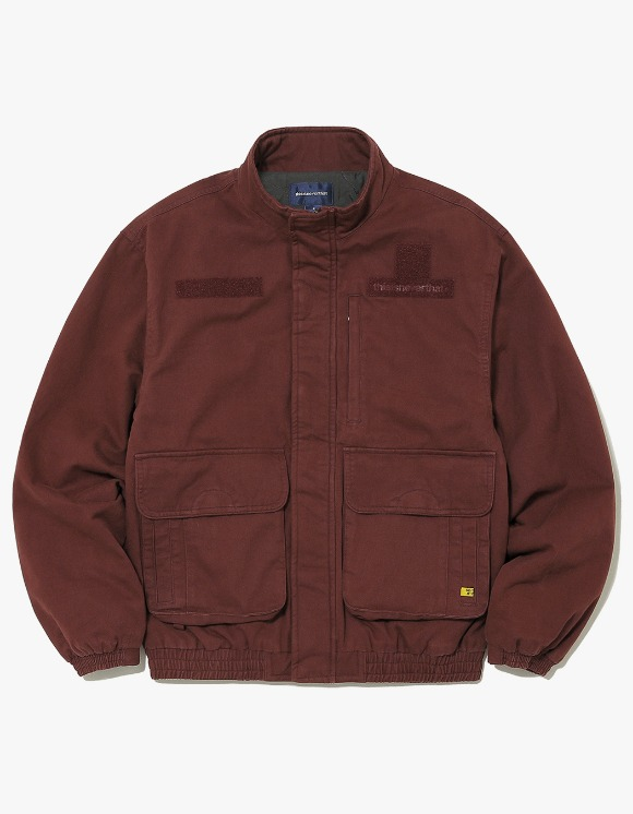 thisisneverthat Drive Jacket - Burgundy | HEIGHTS. | 하이츠 온라인 스토어
