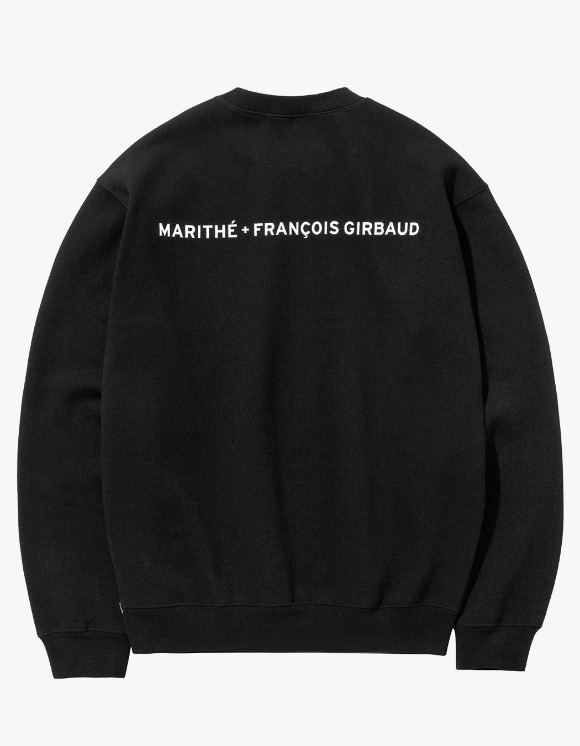 Marith+Franois Girbaud MFG NAME LOGO SWEATSHIRT black | HEIGHTS. | 하이츠 온라인 스토어