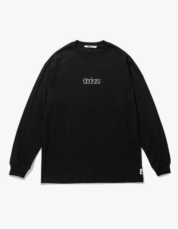 Fuzz FUZZ EMBO L/S TEE - Black | HEIGHTS. | 하이츠 온라인 스토어
