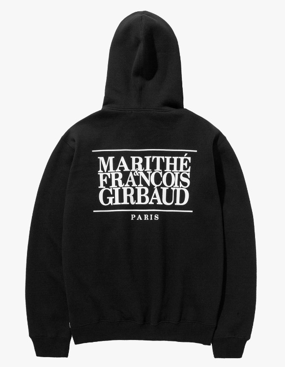 Marith+Franois Girbaud MFG CLASSIC LOGO HOODIE black | HEIGHTS. | 하이츠 온라인 스토어