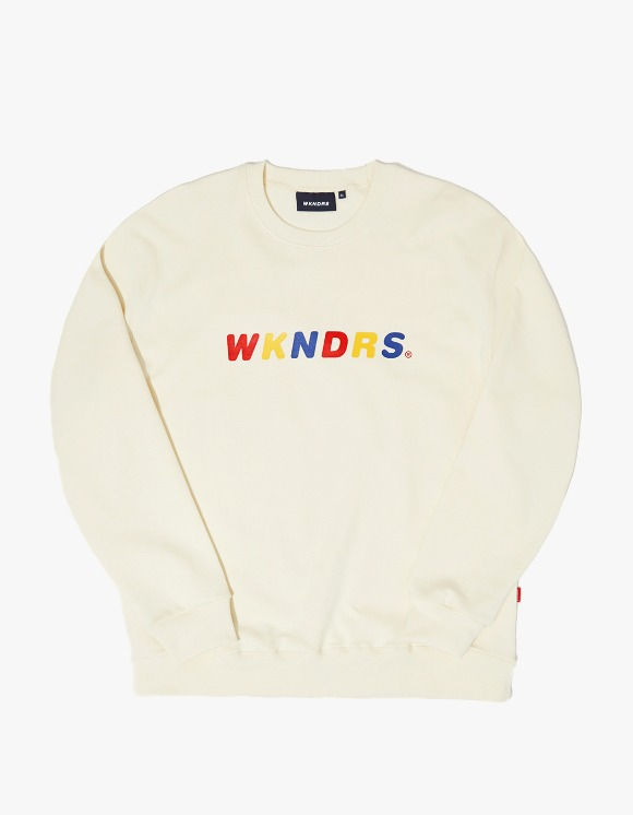 WKNDRS Color Sweatshirt - Ivory | HEIGHTS. | 하이츠 온라인 스토어