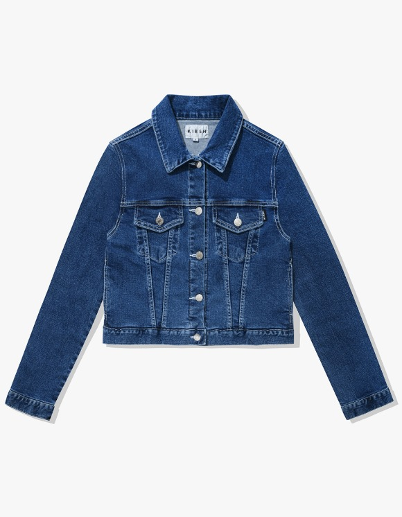 KIRSH FITTED STITCH TRUCKER JACKET IA  - BLUE | HEIGHTS. | 하이츠 온라인 스토어
