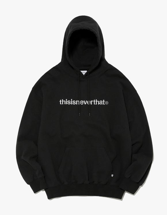thisisneverthat T-Logo Hooded Sweatshirt - Black | HEIGHTS. | 하이츠 온라인 스토어