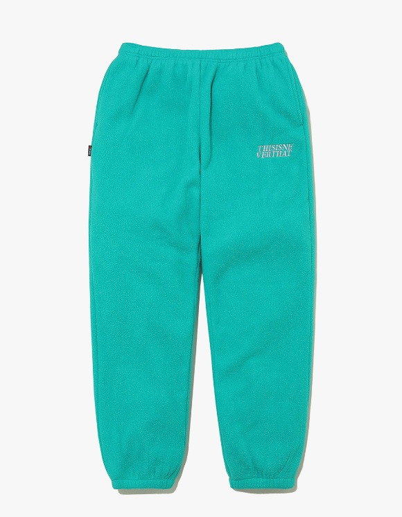 thisisneverthat POLARTEC Fleece Pant - Blue Green | HEIGHTS. | 하이츠 온라인 스토어