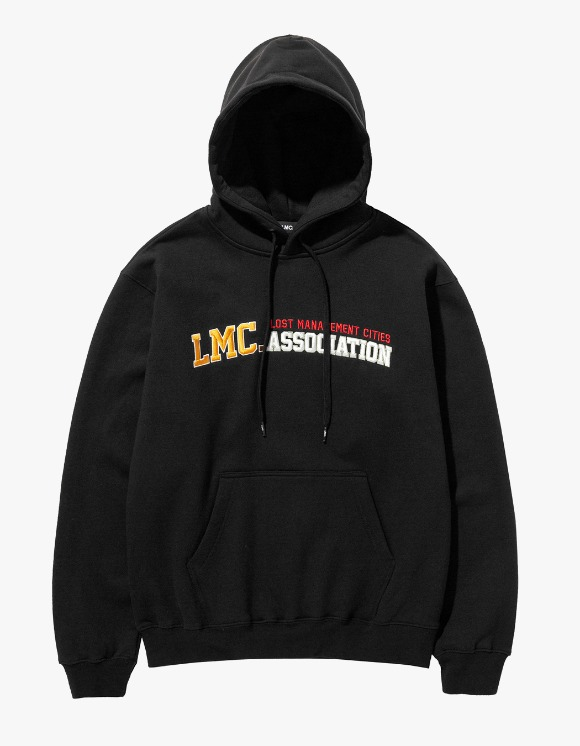 LMC LMC ATHLETIC EMB HOODIE black | HEIGHTS. | 하이츠 온라인 스토어