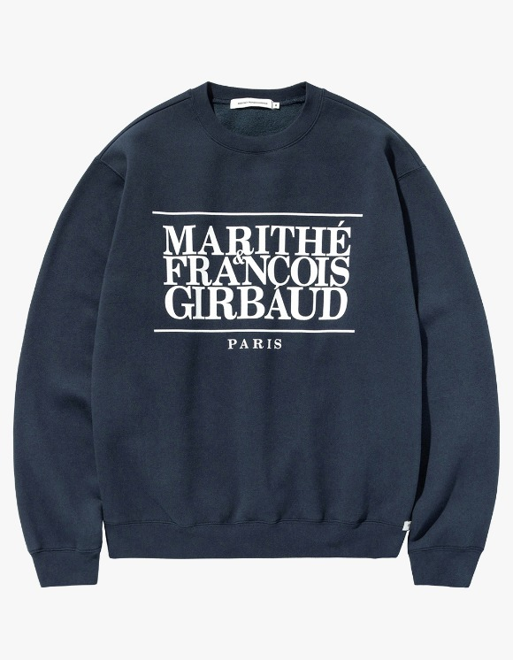 Marith+Franois Girbaud MFG CLASSIC LOGO SWEATSHIRT navy | HEIGHTS. | 하이츠 온라인 스토어