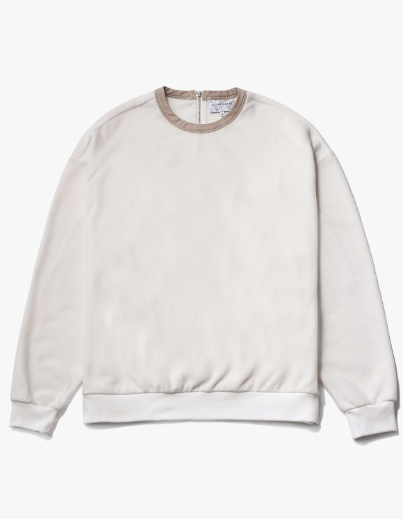 AECA WHITE Nord Oversize Sweat - Ivory | HEIGHTS. | 하이츠 온라인 스토어