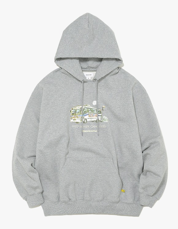 thisisneverthat WC Bus Hooded Sweatshirt - Grey | HEIGHTS. | 하이츠 온라인 스토어