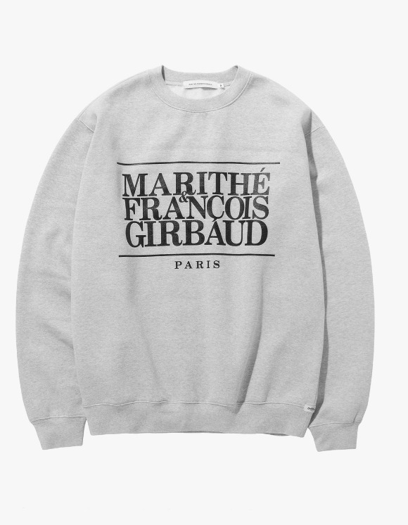 Marith+Franois Girbaud MFG CLASSIC LOGO SWEATSHIRT heather gray | HEIGHTS. | 하이츠 온라인 스토어