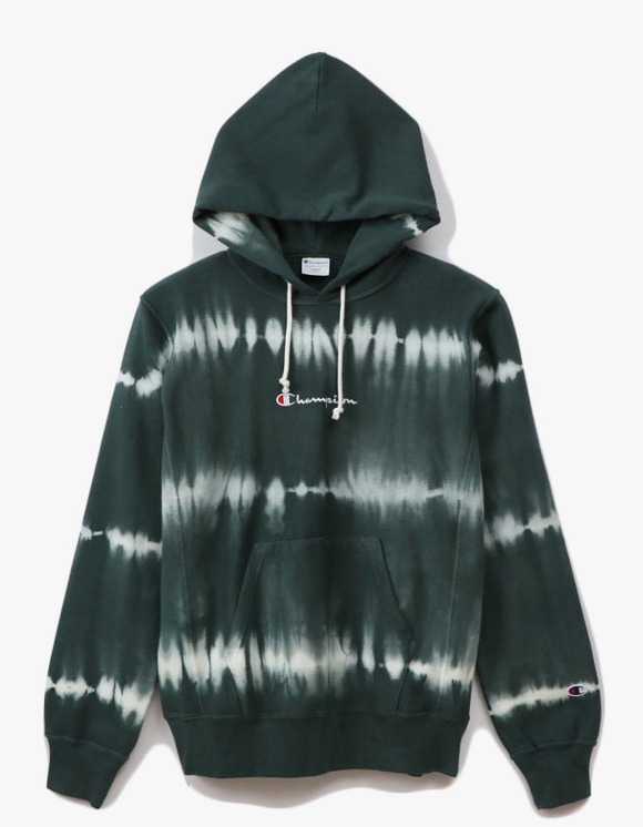 Champion 10oz Tie Dye Pullover - Green | HEIGHTS. | 하이츠 온라인 스토어