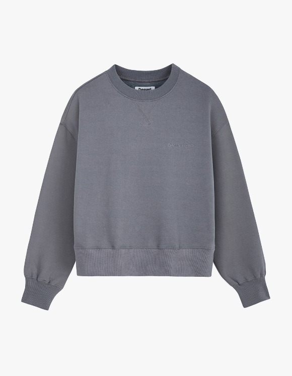Dessert [17일 예약발송]Dessert Wear Sweatshirt - Dark Gray | HEIGHTS. | 하이츠 온라인 스토어