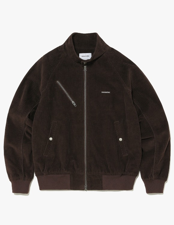 thisisneverthat Corduroy Zip Jacket - Brown | HEIGHTS. | 하이츠 온라인 스토어