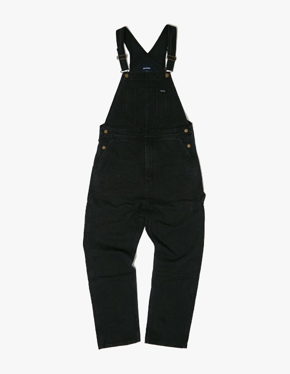 WKNDRS Denim Overall - Black | HEIGHTS. | 하이츠 온라인 스토어