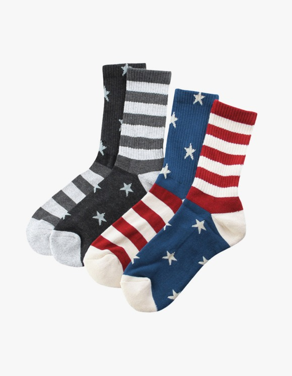 Champion 2P Set Full Length Socks - Color | HEIGHTS. | 하이츠 온라인 스토어