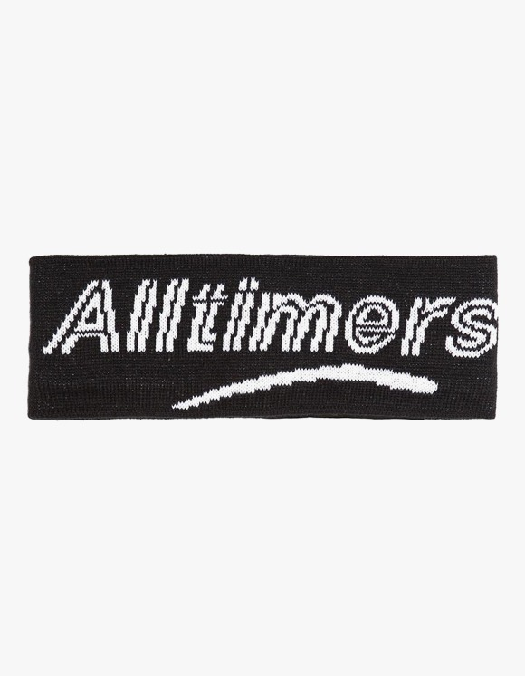 Alltimers Head Bandz Ear Warmer - Black | HEIGHTS. | 하이츠 온라인 스토어